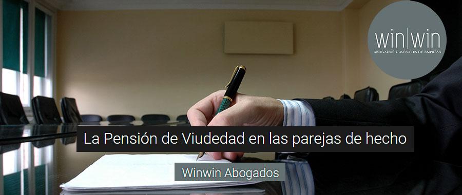 Pesión viduedad parejas hecho Valladolid
